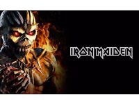 2 x Tickets for Iron Maiden - Newcastle 14 May 2017