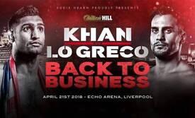 Amir khan tickets