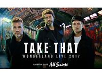 2 Take That tickets standing Manchester