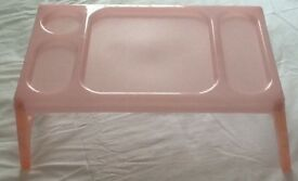 NEW Pink food tray £2
