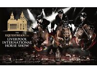2 tickets to The Liverpool International Horse Show