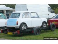 CAR TRAILER 3.55 x 1.55 m Built for Racing Car has single axle with suspension £295 ovno