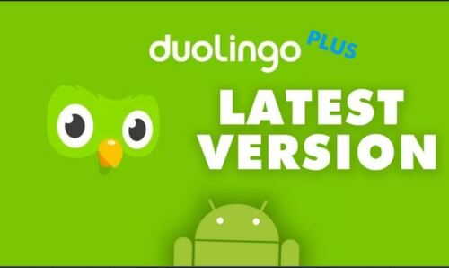 Duolingo Premium Android App | Lifetime warranty | Language learning | Education