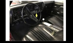 WANTED! 1970 chevelle interior automatic