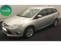 £180.09 PER MONTH SILVER 2014 FORD FOCUS 1.6 TDCi EDGE ESTATE DIESEL MANUAL