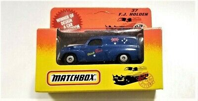 Matchbox True Blue F. J. Holden Autralian Limited Edition - New in Package