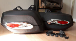 Can Am Cross Country detachable saddlebags for sale