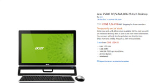 Acer All-In-One Z600