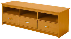 3-Drawer Entertainment Console, New