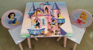 Disney table with chairs