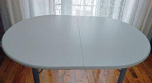 TABLE DE CUISINE SALLE A DINER EN BOIS-FIBRE DE VERRE