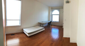 Bright Large Room Downtown @George Brown/Ryerson w/ bed in home