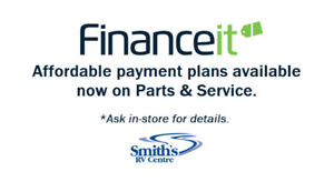 Financing NOW AVAILABLE on Parts & Service!