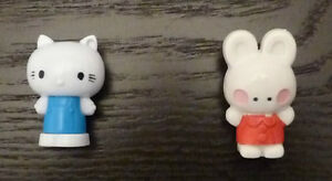 Hello Kitty & Bunny Pencil/Cake Toppers