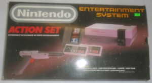 VINTAGE NES NINTENDO ENTERTAINMENT SYSTEM CONSOLE IN BOX