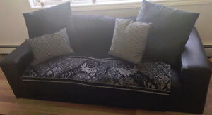 Nice and Comfortable leather Couch