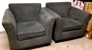 2 pieces of  single living room furniture