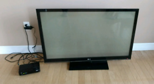 "52"" LG Flat Screen TV"