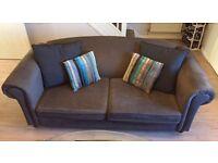 Grey sofa / settee