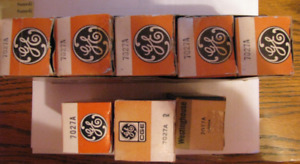 GE 7027 A tubes lampes