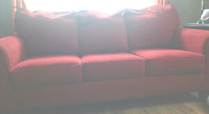 Red Couch for Sale!