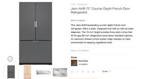 Jenn-Air Fridge - New - 36''x72''