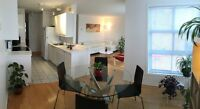 Beautiful 2 BD Condo in the heart of Montreal with Parking