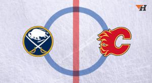 Great Deal Single Ticket Flames Vs Buffalo Sabres PL14 Row 17