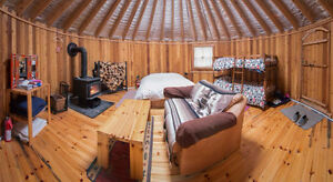 The most expensive YURTS in North America
