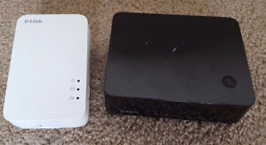 D-Link Powerline DHP-540 4 port switch AND D-Link Powerline DHP-
