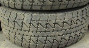 2 good used tires 15 inch=31=10.50=15===65% Tread Remaining