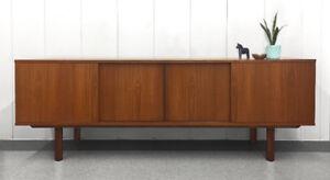 Vintage Teak Dovetail Dresser