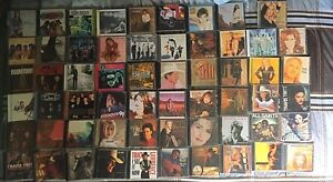 A variety of CD's mostly from the '90's!