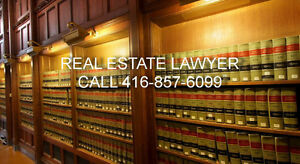 Real Estate Lawyer( Purchase, Sale, Refinance) 416-857-6099
