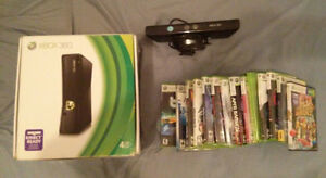Xbox 360 + 14 Games + Kinect