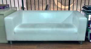 KLIPPAN Ikea Loveseat Couch Sofa - White