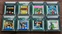 Nintendo GameBoy Color Games $10 each or all 8 for $40