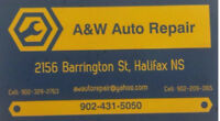 DISCOUNT WINTER TIRES: AW AUTO REPAIR
