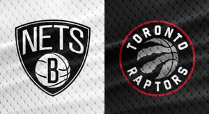 Jan 11 Nets @ Raptors Section 103 Row F x 4, 8th row from court