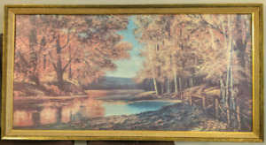 Antique Picture 2' x 4' - Good Condition