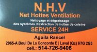 Net Hottes Ventilation - Installation hottes commerciales