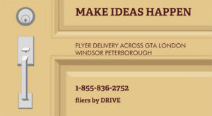 FLYER delivery PETERBOROUGH