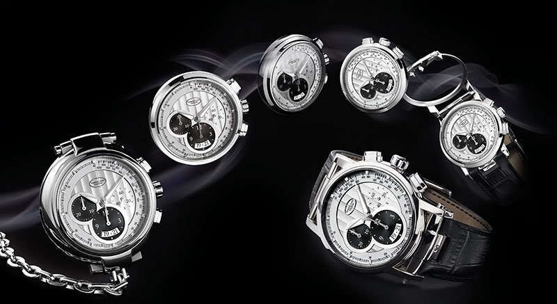 Parmigiani Transforma Steel Automatic Chronograph. Convertible Pocket Watch. New - watch picture 1