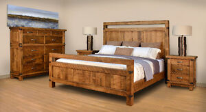 Canadian Made & Solid Wood Bedroom Suite Dreams Clearance Sale!