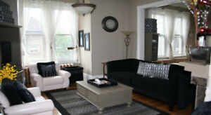 Executive furnished 1 bedroom apartment