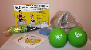 Fitness Ball Kit Weight Balls Stretch Bands DVD (Brand New!)