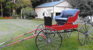 Vintage Horse Drawn Carriage