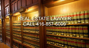Real Estate Lawyer ( Purchase, Sale, Ref) 4168576099