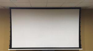 "135"" NEW Motorized In Ceiling 4K HD Projection TV Screen"