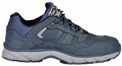 Arbeitsschuhe NEW GHOST BLUE S3 SRC Sicherheitsschuhe wasserabweisend Nubukleder Ghost Leder